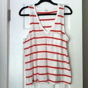 Madewell Whisper Tank Size Medium